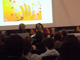 Donata Ariot  Maria Rosa Garatti - Expo Libri PD 2013