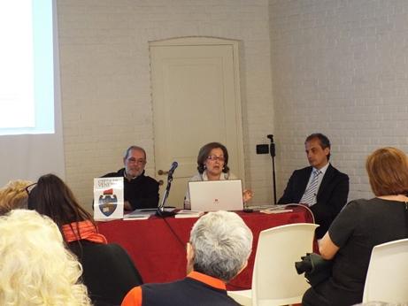 Presentazione di TRA GLI ALAMBICCHI DEL CONVENTO a Venezia 6 aprile 2014 con P.G.Evangelisti  M.R.Garatti  G.Corsetti