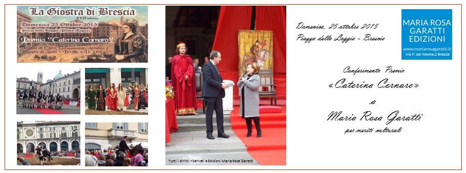 Premio Caterina Cornaro 2015